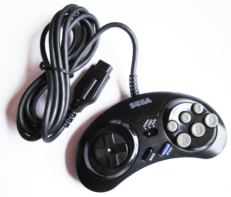 genesis_6btn_2 atari sms genesis joystick controller multi tap to usb adapter sega genesis controller wire diagram at soozxer.org