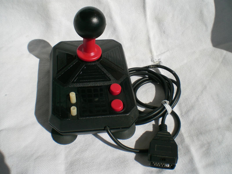 Atarismsgenesis joystickcontrollermulti tap to usb adapter filippo form italy converted an alberici joystick they were famous in italy especially the db9 connector version for commodore 64 sciox Image collections