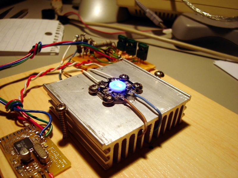 USB controlled RGB Led