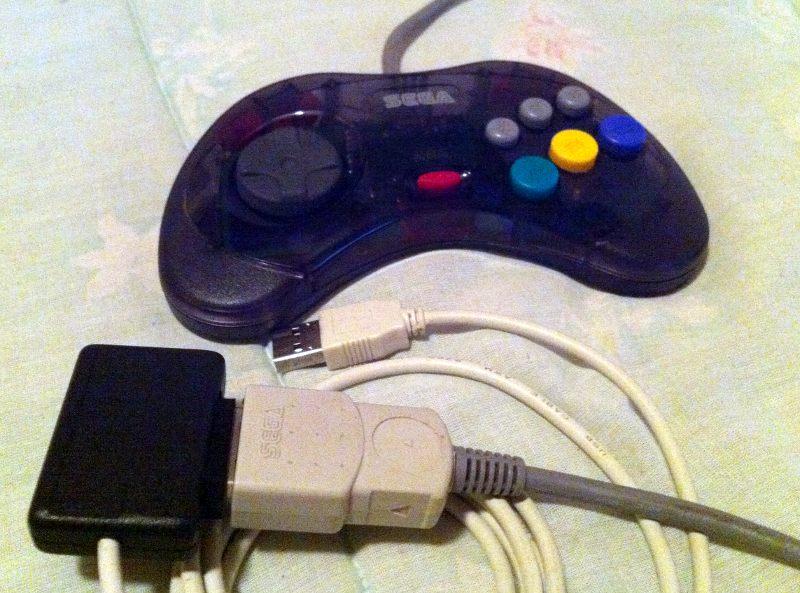 Sega Saturn Controller To Usb Adapter