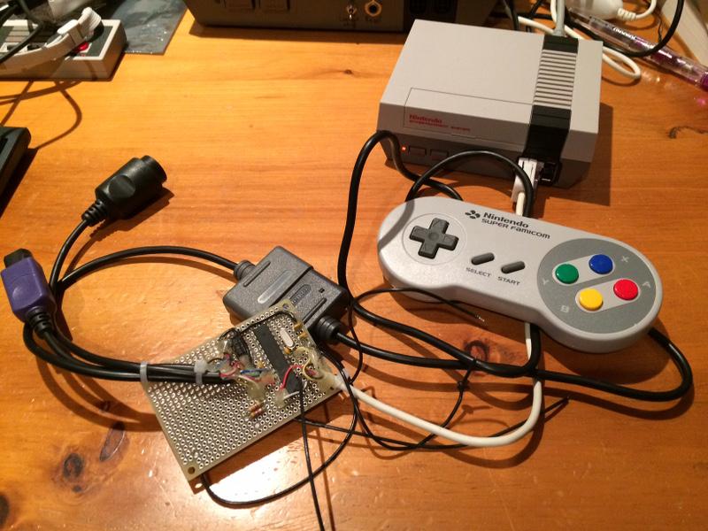 Extenmote: NES, SNES, N64 or Gamecube controller on Wii or Wii U via