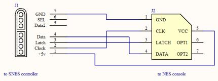 nes mods ps2 controller pinout raspberry pi zero inside an snes