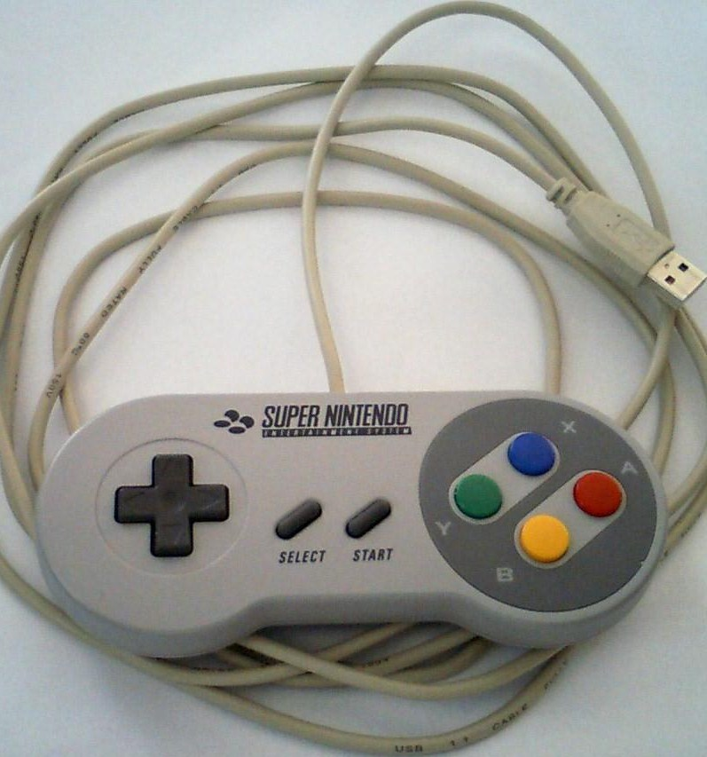 SNES/NES gamepad (and mouse) to USB adapter
