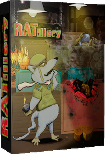 Now on Kickstarter: A Boxed edition for my DOS game RATillery image
